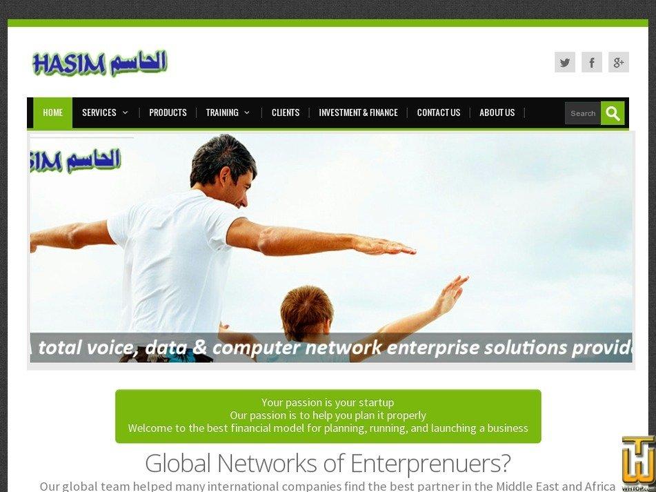 hasim.com Screenshot