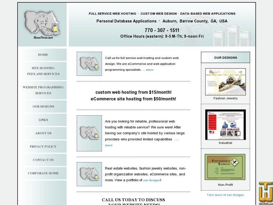 hosenose.net Screenshot