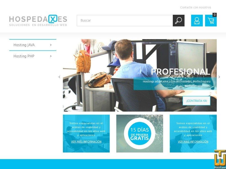 hospedaxes.com Screenshot