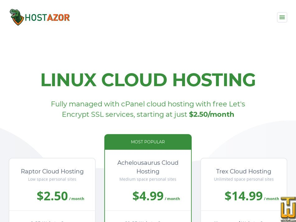 hostazor.com.tr Screenshot