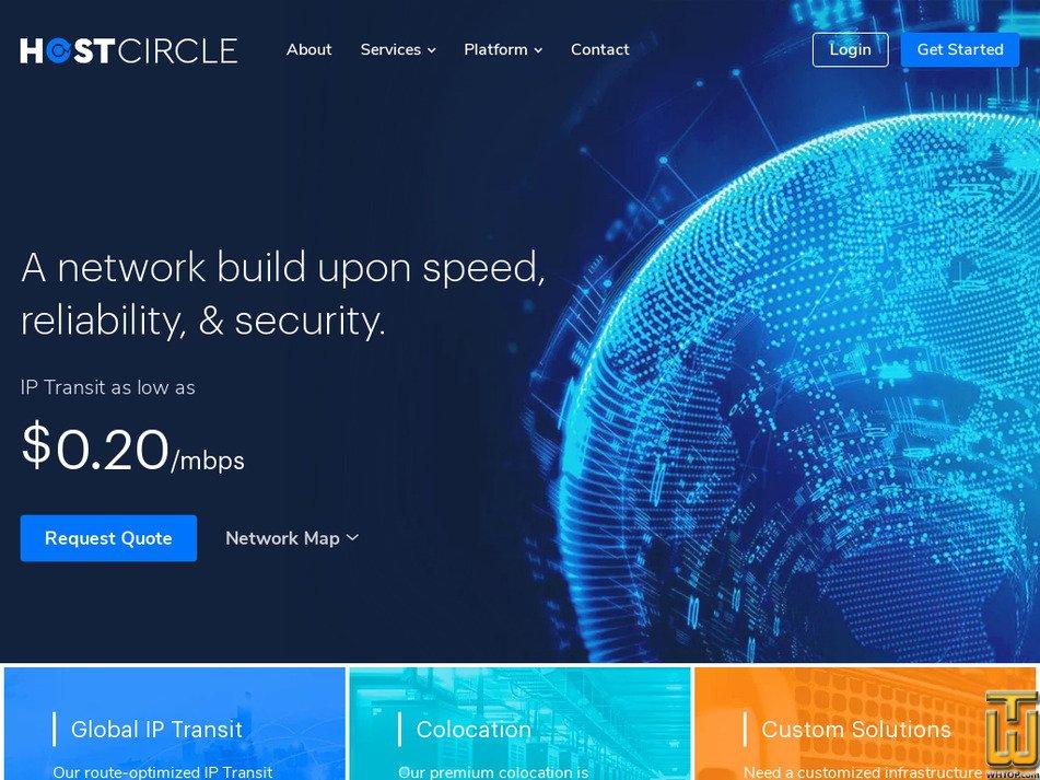 hostcircle.com Screenshot