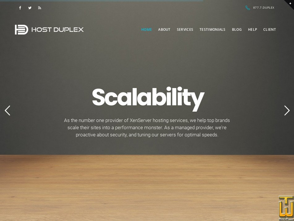 hostduplex.com Screenshot