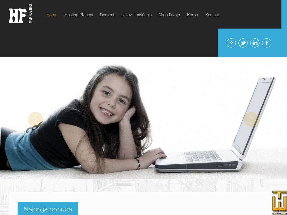 hostfate.com Screenshot