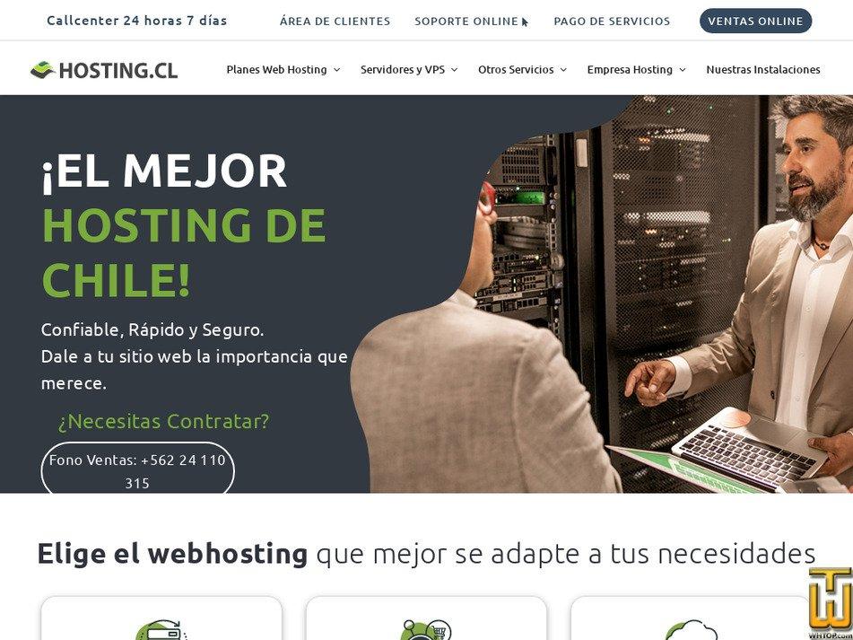 hosting.cl Screenshot