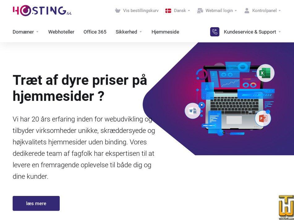 hosting.gl screenshot