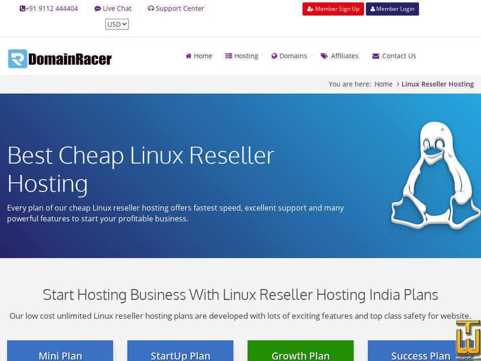 hostingforsell.com Screenshot