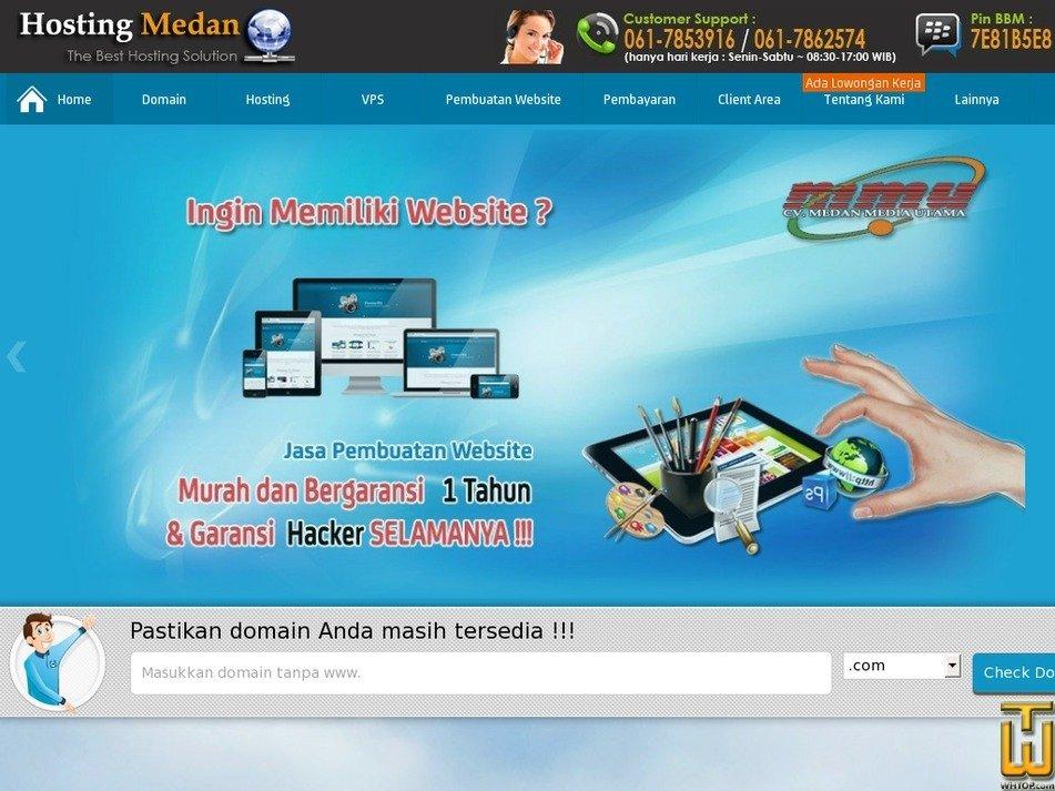 hostingmedan.com Screenshot