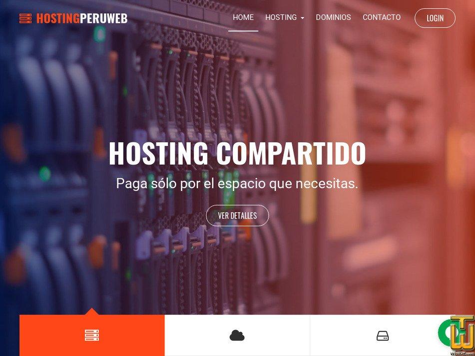 hostingperuweb.com Screenshot