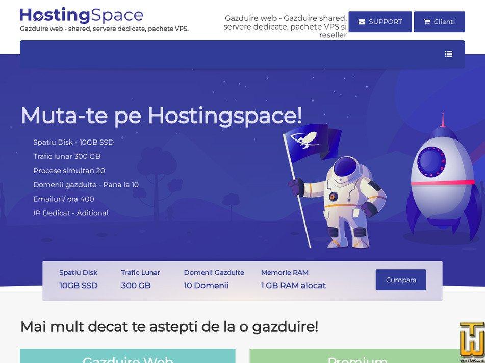 hostingspace.ro screenshot