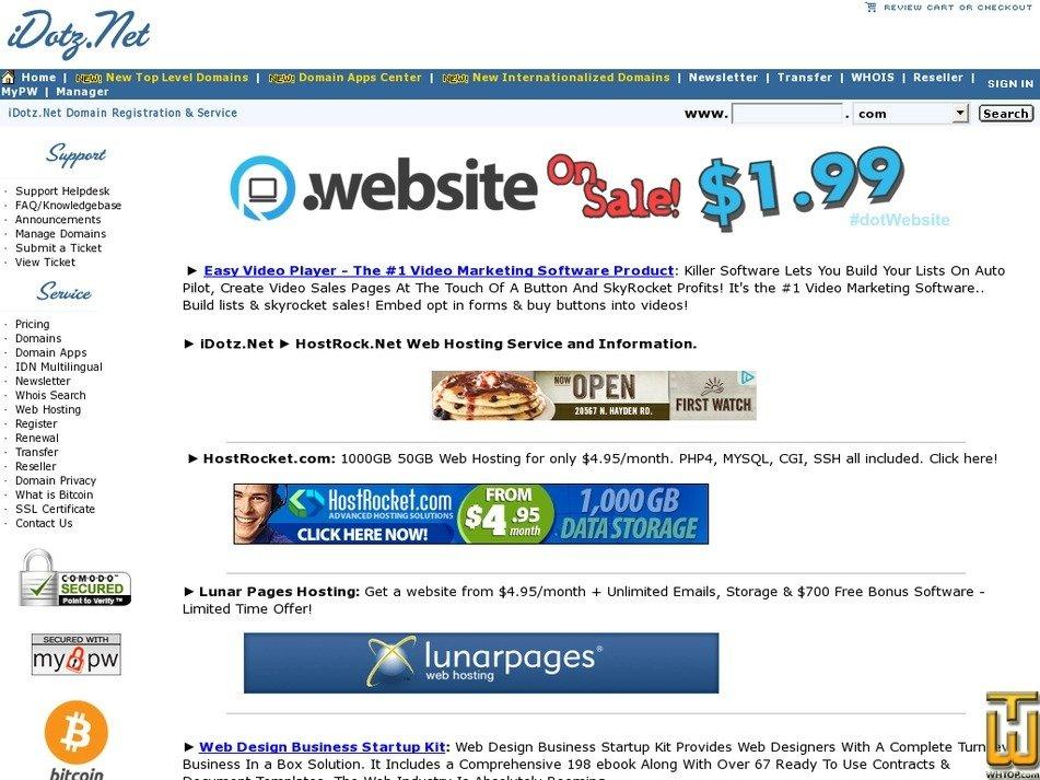 hostrock.net Screenshot