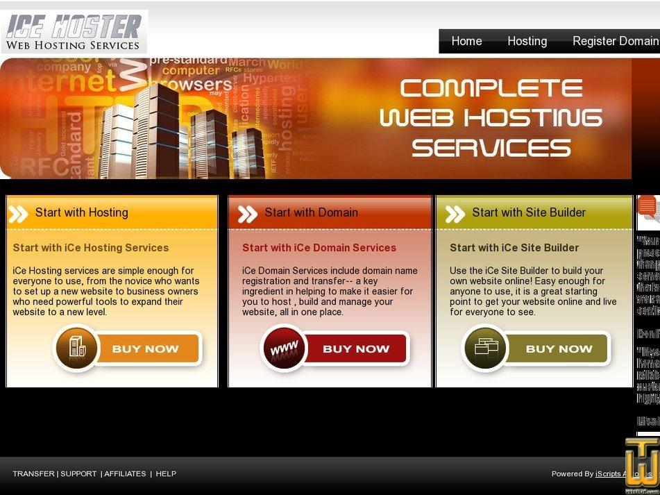 hoststation.net Screenshot