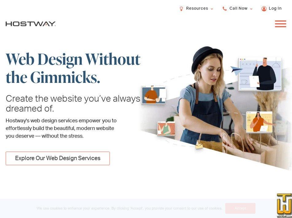hostway.com Screenshot