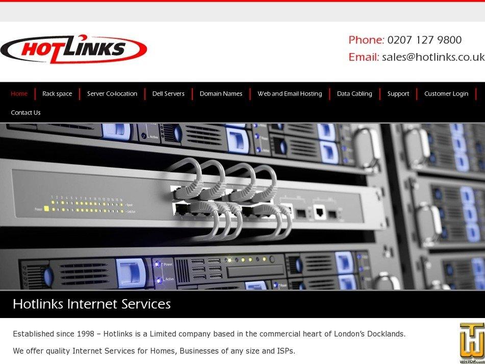 hotlinks.co.uk Screenshot