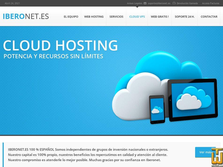iberonet.es Screenshot