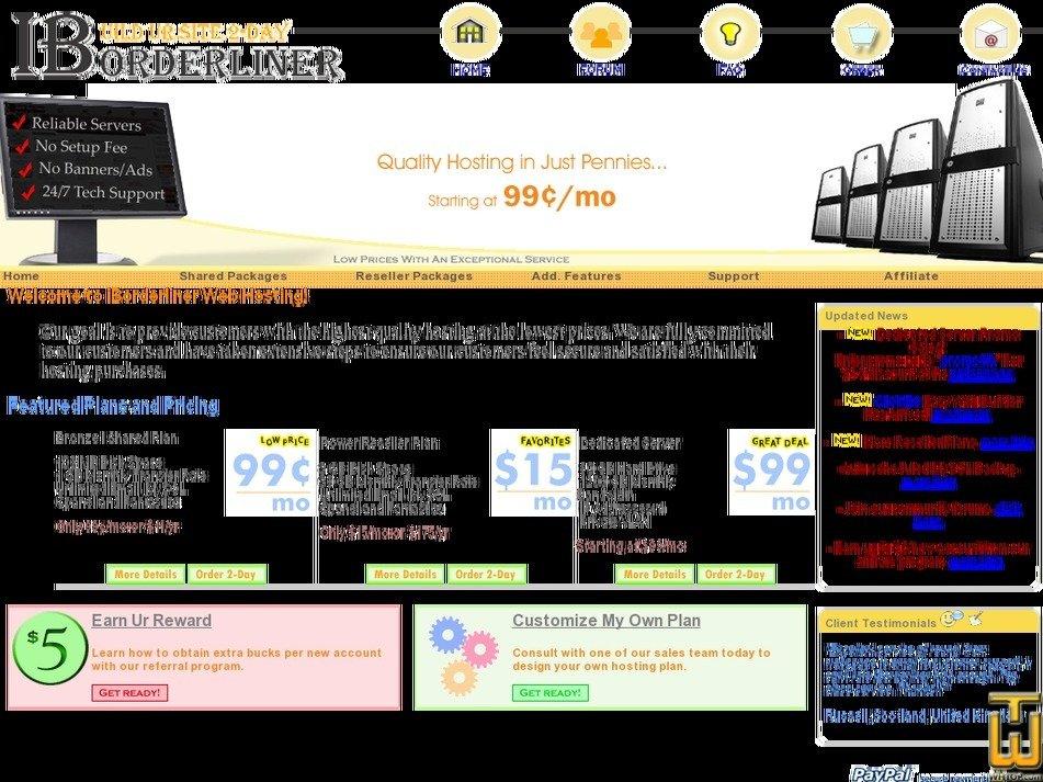 iborderliner.net Screenshot