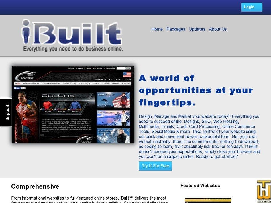 ibuilt.net Screenshot