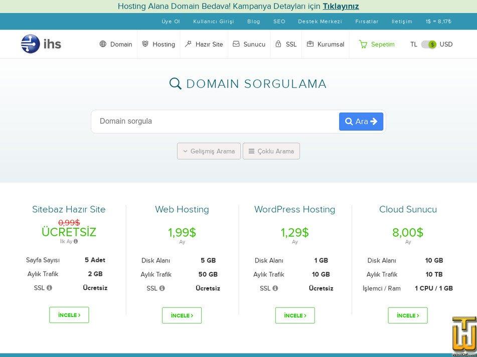 ihs.com.tr Screenshot