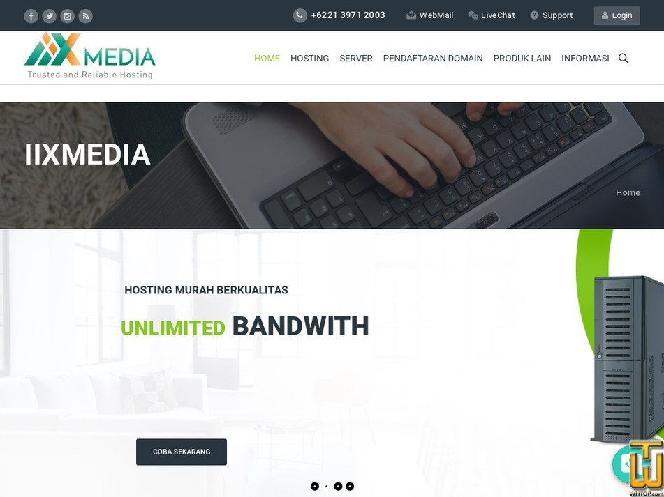 iixmedia.com Screenshot