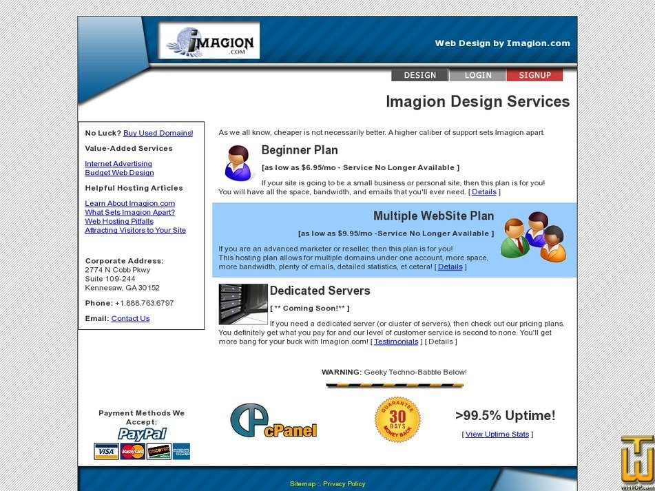 imagion.com Screenshot