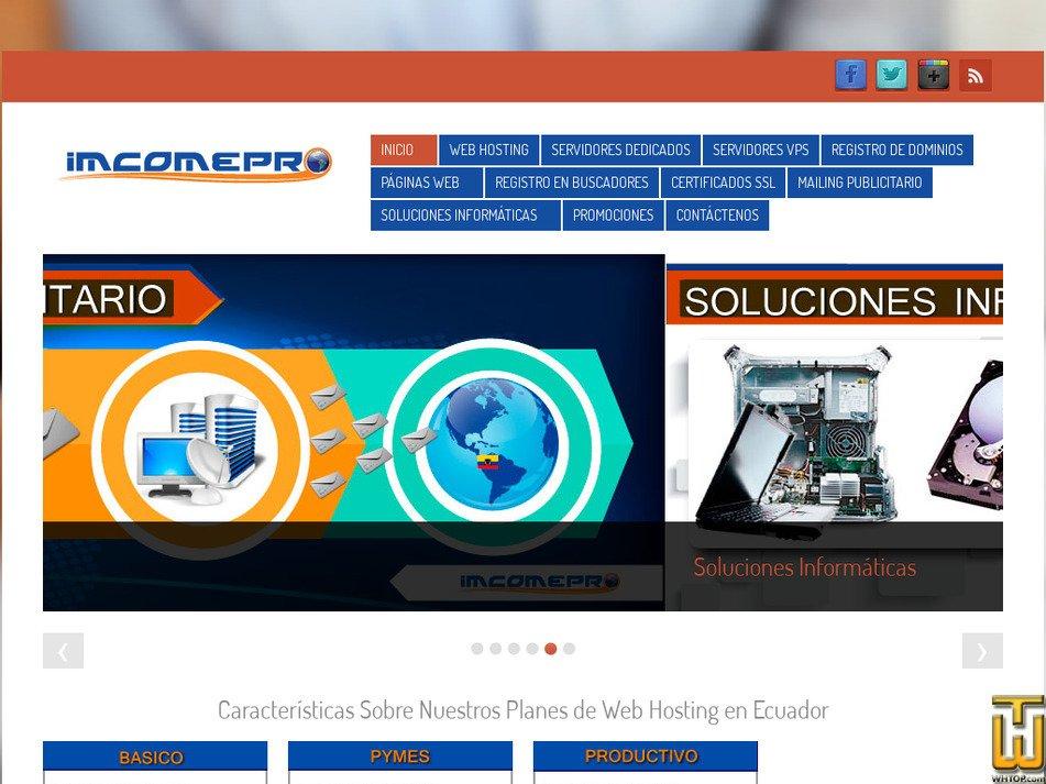 9cc67bc7a Imcomepro Review 2019. imcomepro.com good web hosting in Ecuador