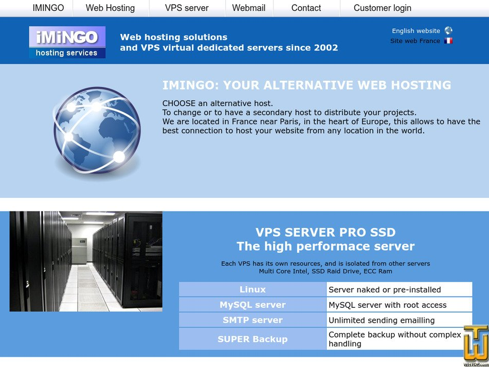 imingo.net Screenshot