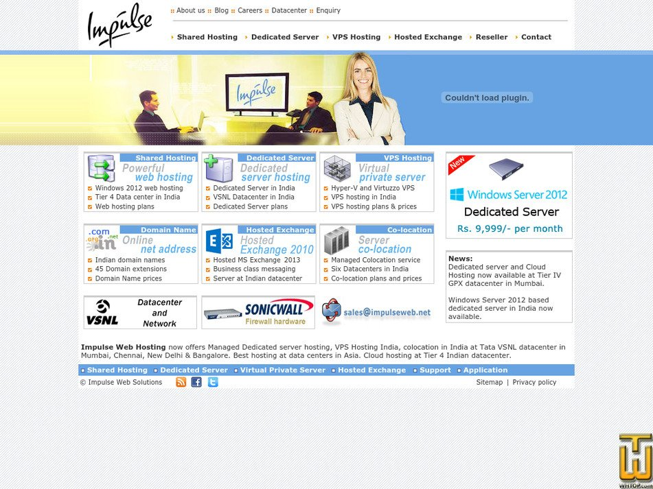 impulseweb.net Screenshot