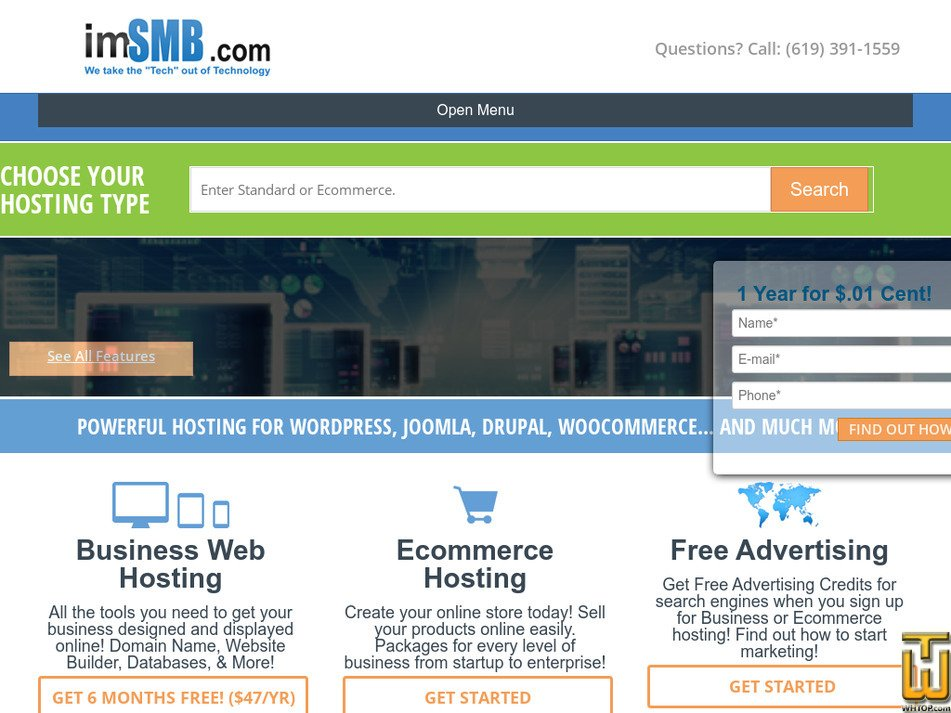 imsmb.com Screenshot