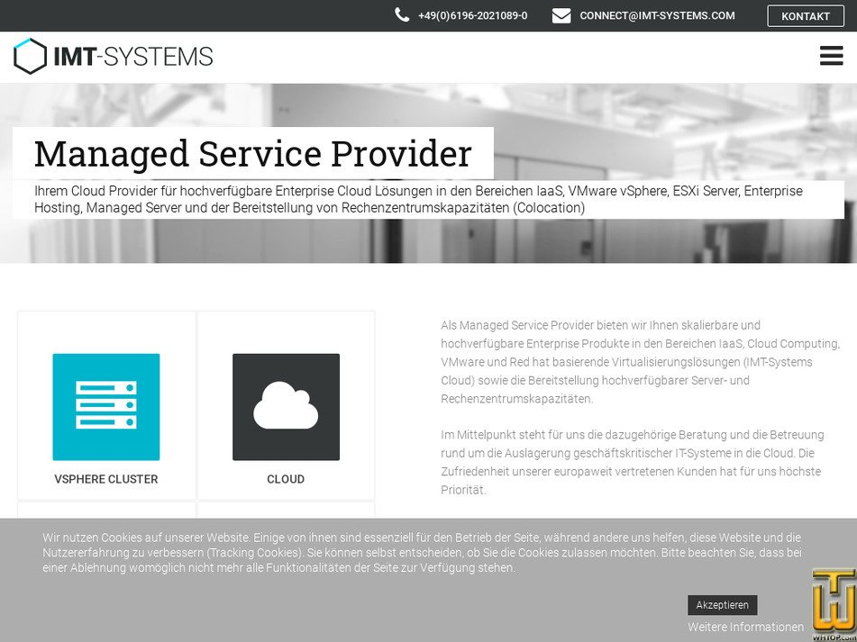 imt-systems.com Screenshot