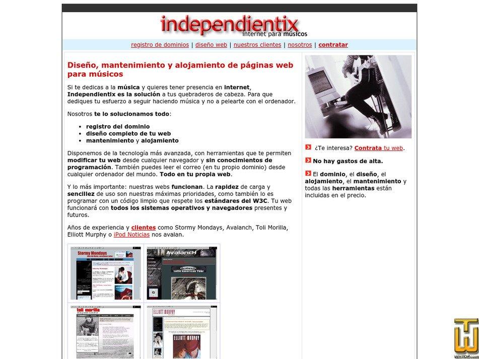 independientix.com Screenshot
