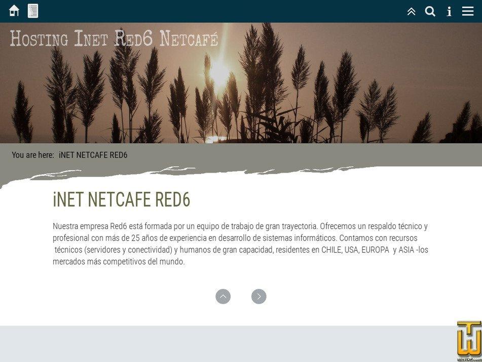 inet.cl Screenshot