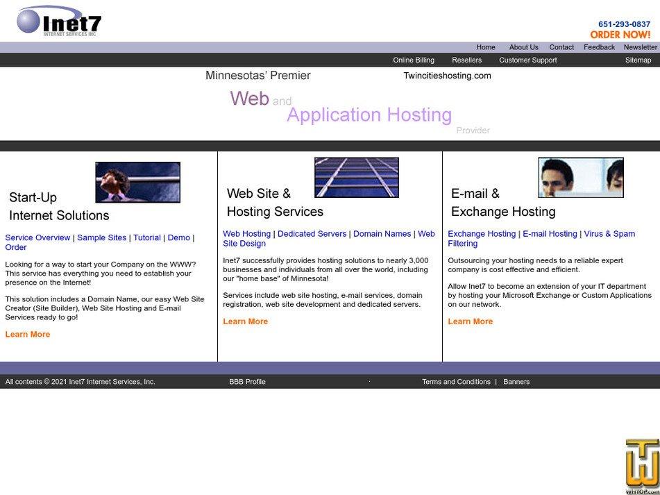 inet7.com Screenshot