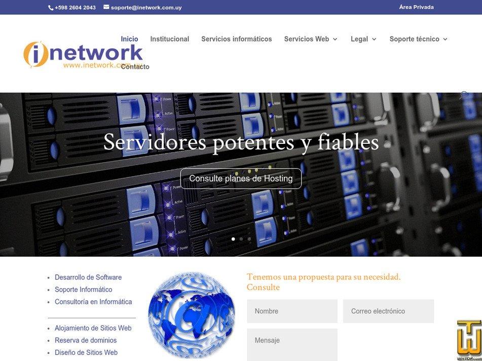 inetwork.com.uy Screenshot