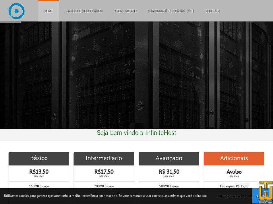 infinitehost.com.br Screenshot