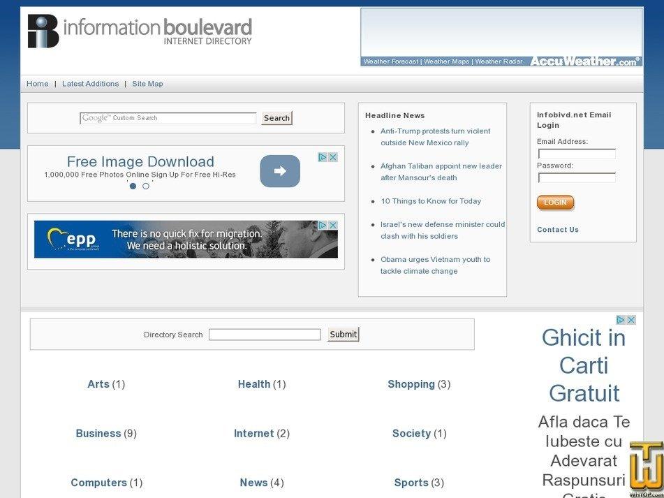 infoblvd.net Screenshot