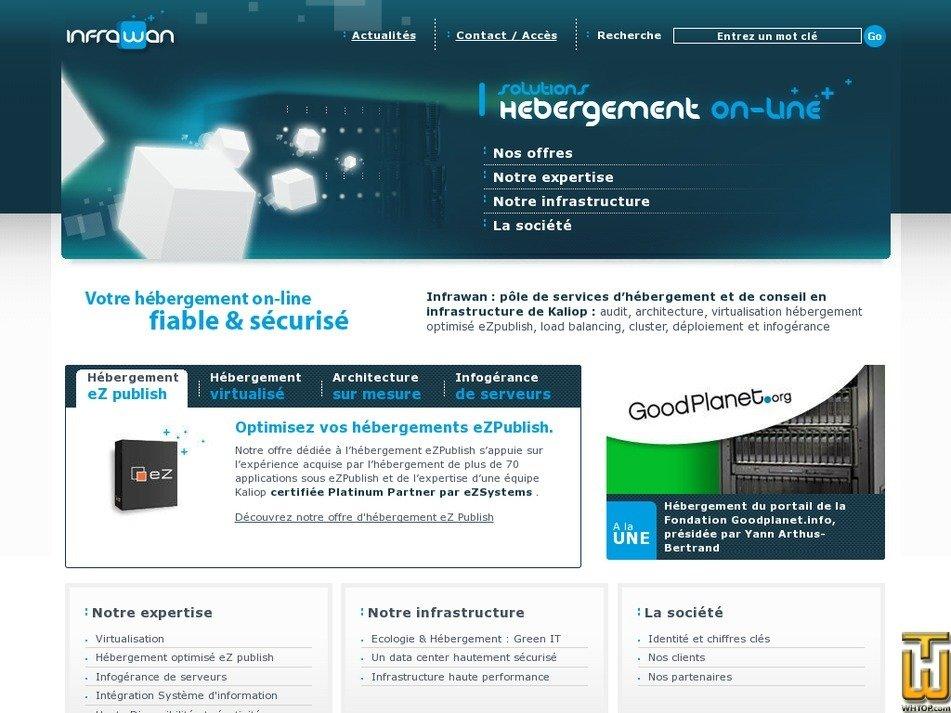infrawan.com Screenshot