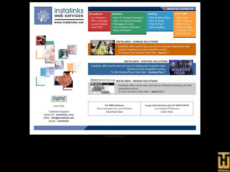 instalinks.net Screenshot