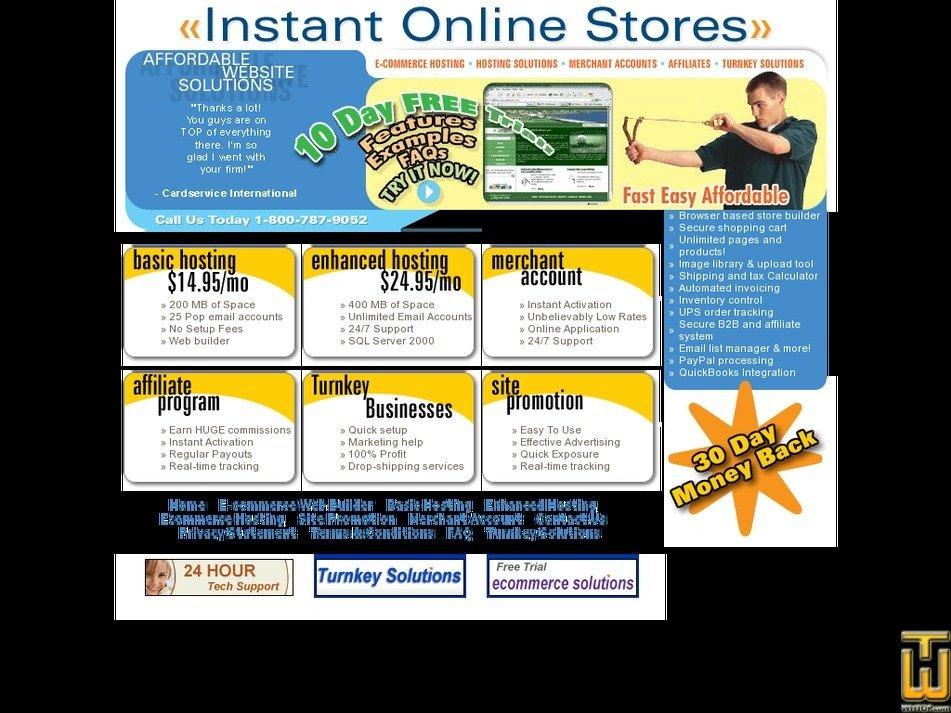 instantonlinestores.com Screenshot