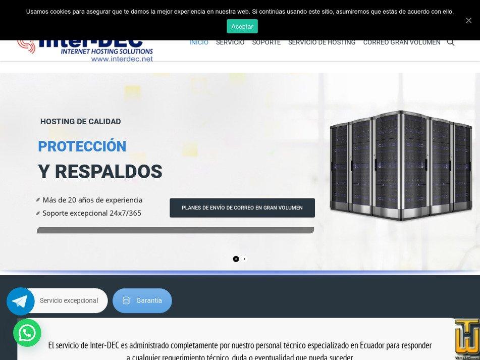 inter-dec.com Screenshot