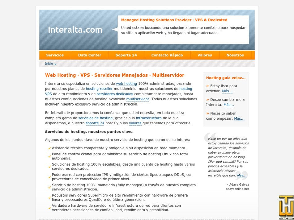 interalta.com Screenshot