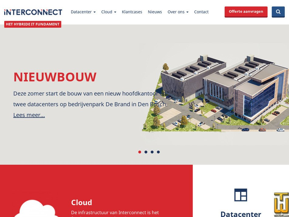 interconnect.nl Screenshot