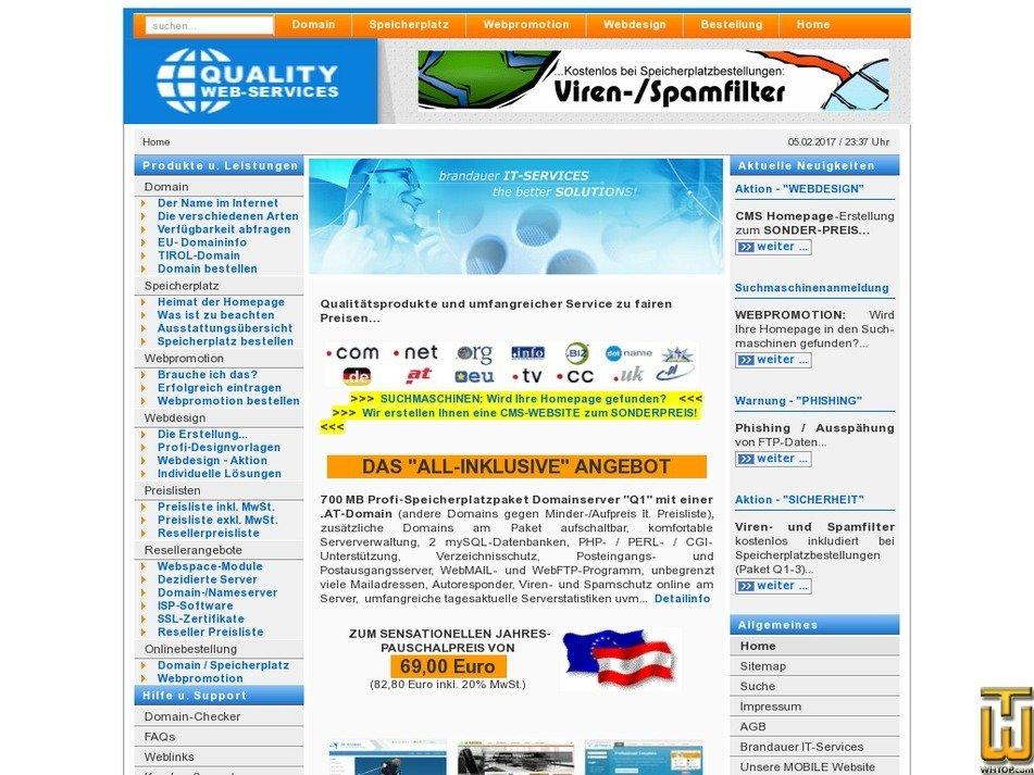 internetdiskonter.at Screenshot