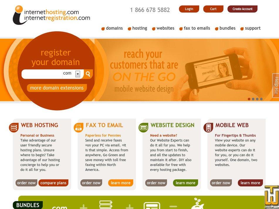 internethosting.com Screenshot