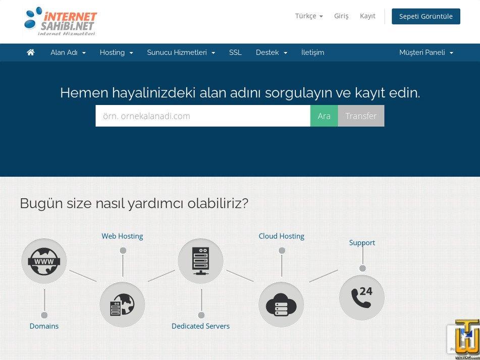 internetsahibi.net Screenshot