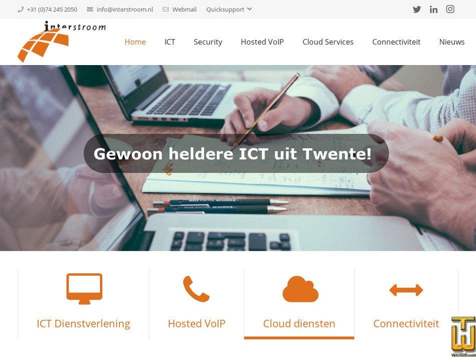 interstroom.nl Screenshot