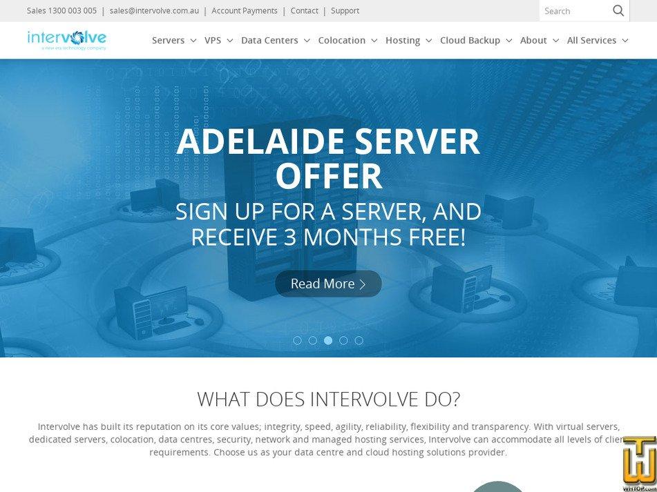 intervolve.com.au screenshot
