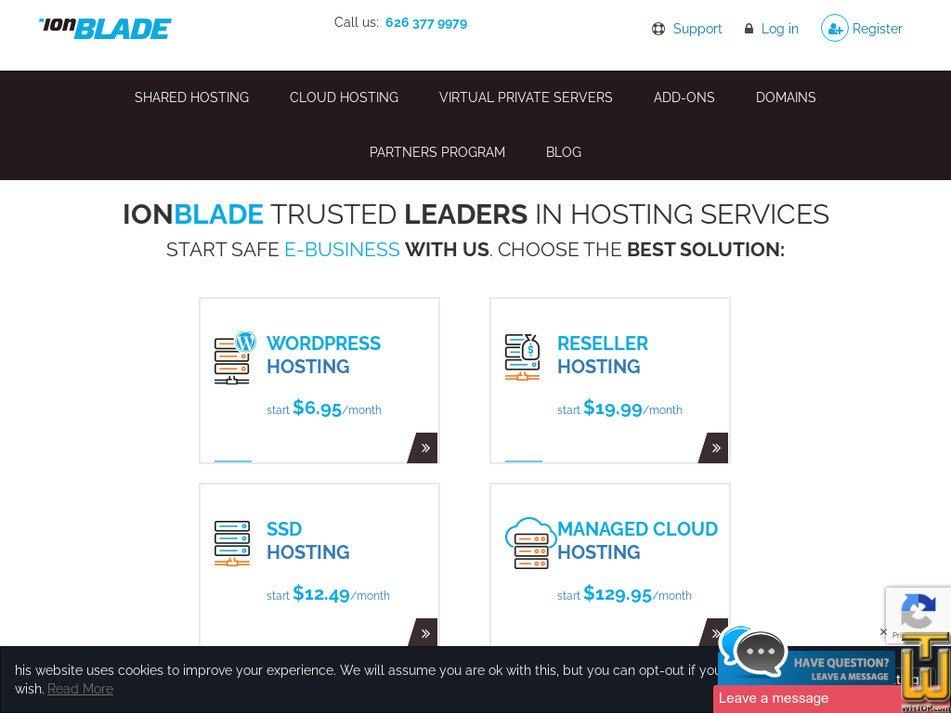 ionblade.com Screenshot