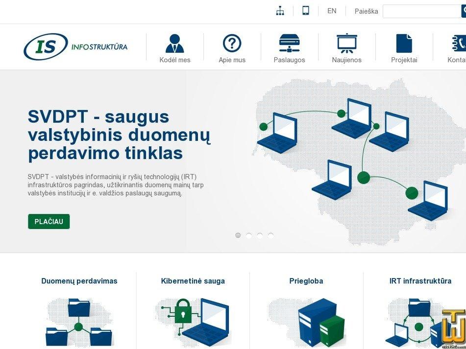is.lt Screenshot