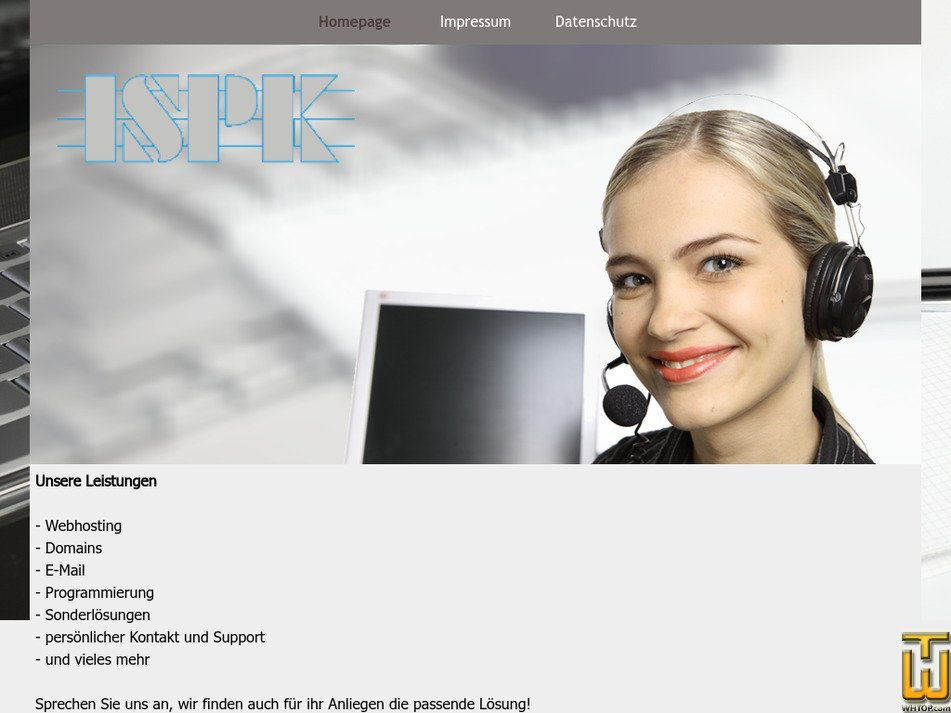 ispkohnen.net Screenshot