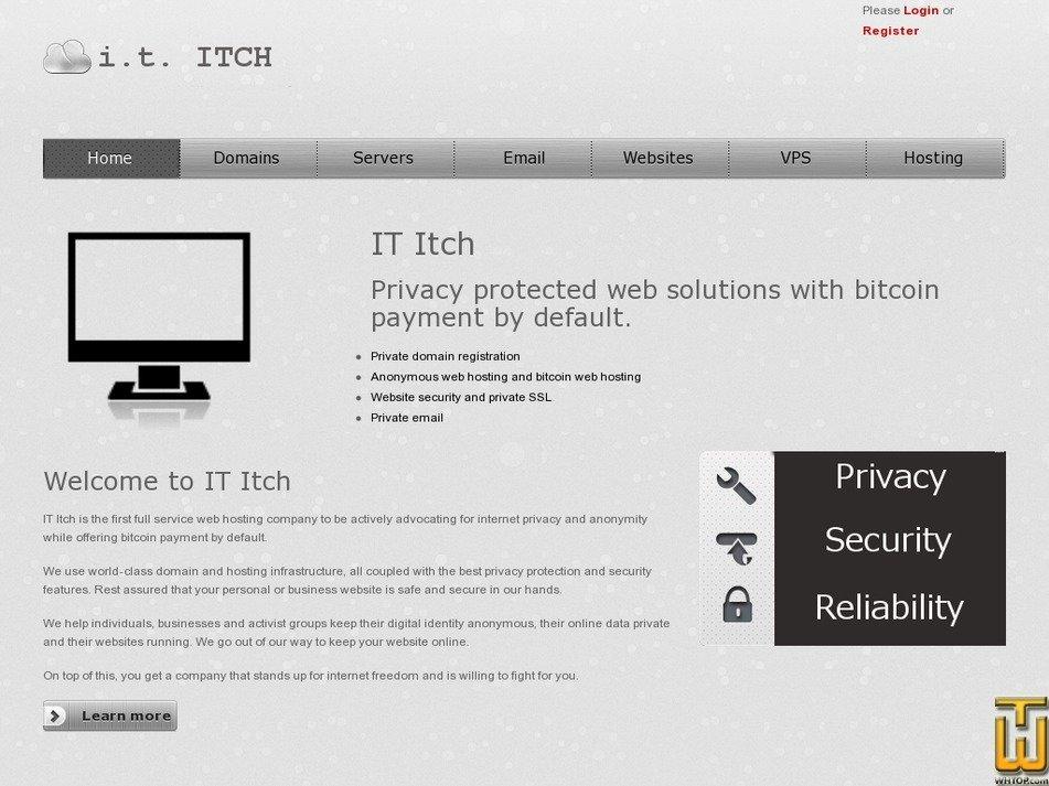 ititch.com Screenshot