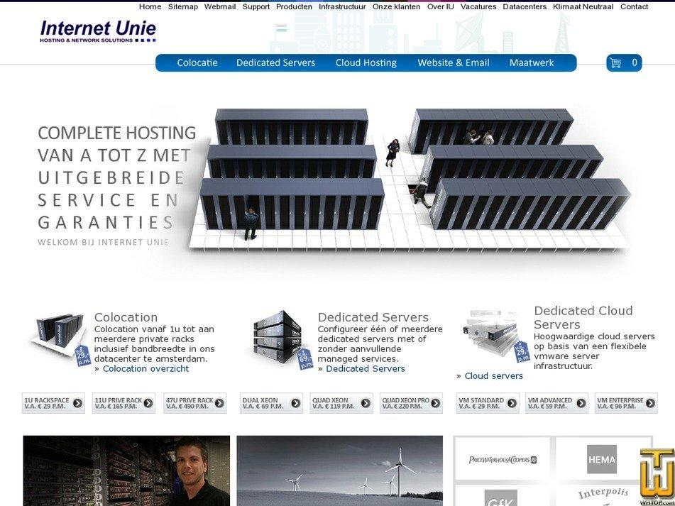 iu.nl Screenshot